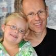 Un père avec sa fille